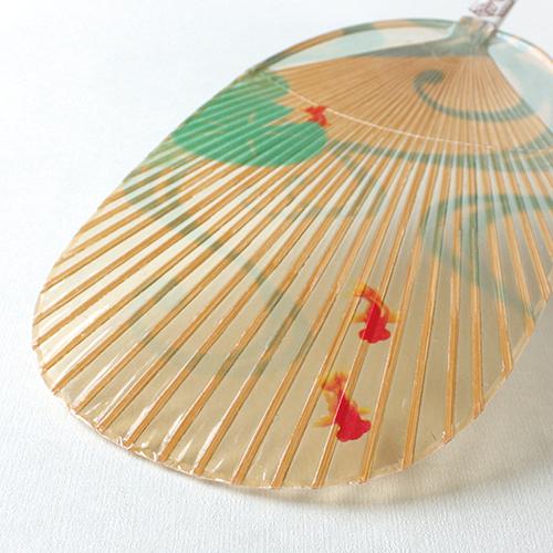 Mizu Uchiwa, Water Fan Koban Type