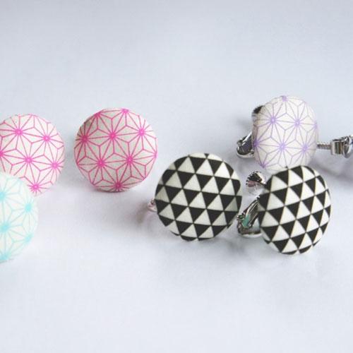 Maaru earrings (HONMINOSHI )