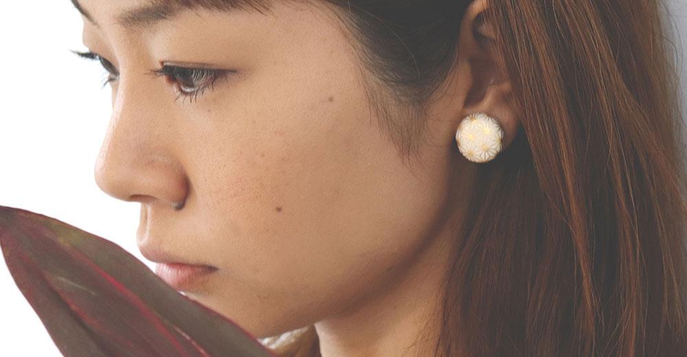 まぁるシリーズ Earrings