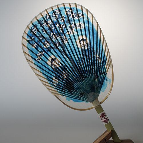 Mizu Uchiwa, Water Fan 窯元絵付けシリーズ