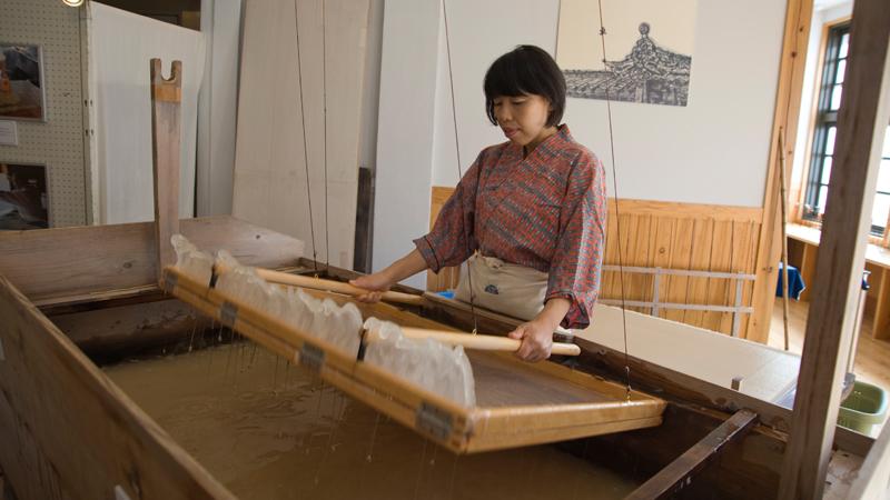 Mino Hand-Made Washi Artisan, Ieda Minako