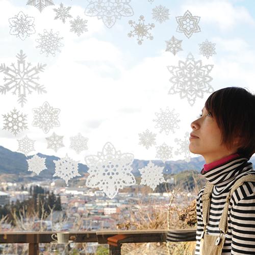 WASHI dECO SNOWFLAKE