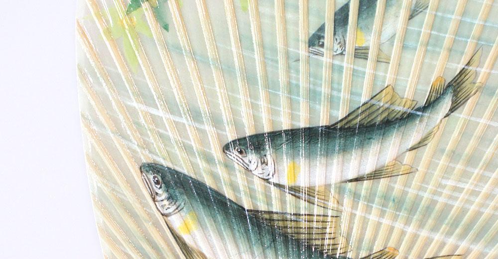 水うちわ 加藤清人手描きシリーズ