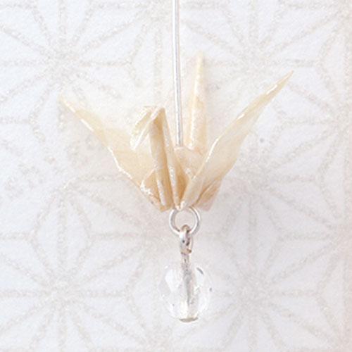 Origami Jewel Crane