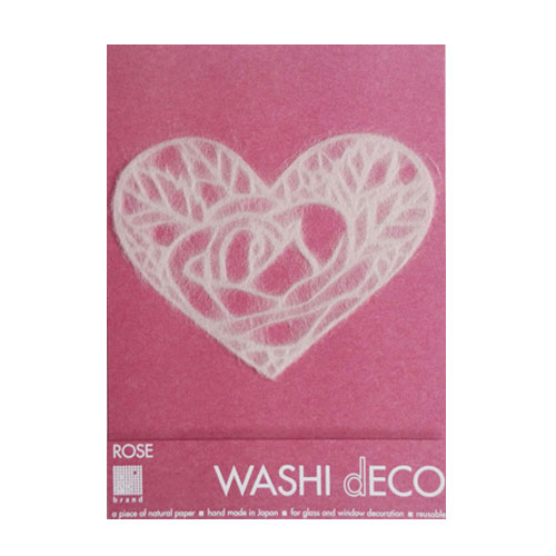 WASHI dECO ROSE